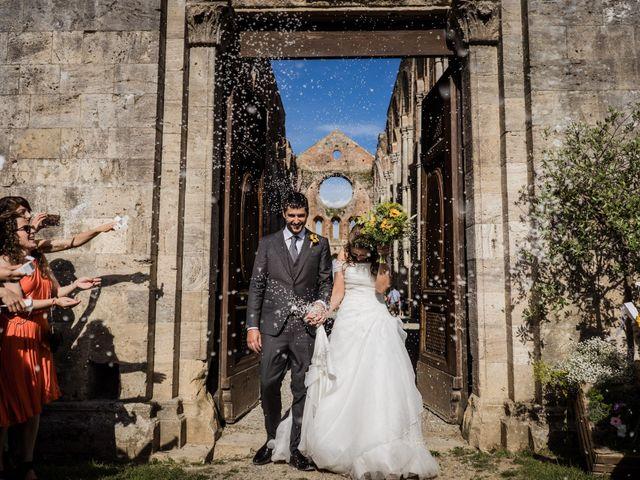 Il matrimonio di Sergio e Chiara a Siena, Siena 55