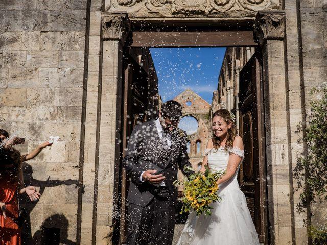 Il matrimonio di Sergio e Chiara a Siena, Siena 56