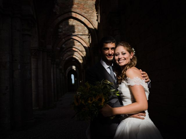 Il matrimonio di Sergio e Chiara a Siena, Siena 58
