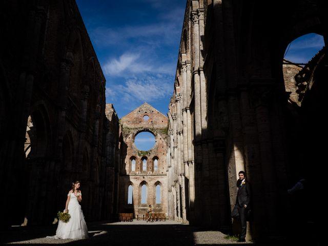 Il matrimonio di Sergio e Chiara a Siena, Siena 68