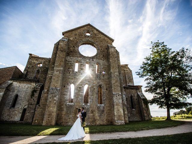 Il matrimonio di Sergio e Chiara a Siena, Siena 69