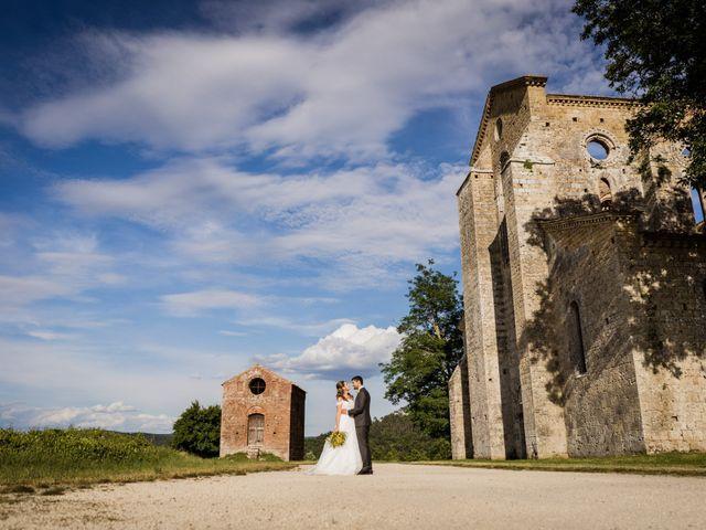 Il matrimonio di Sergio e Chiara a Siena, Siena 71
