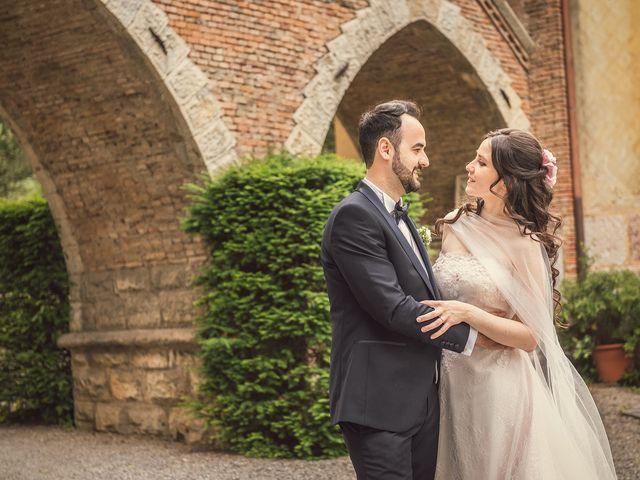 Il matrimonio di Giorgio e Rossella a Trescore Balneario, Bergamo 16