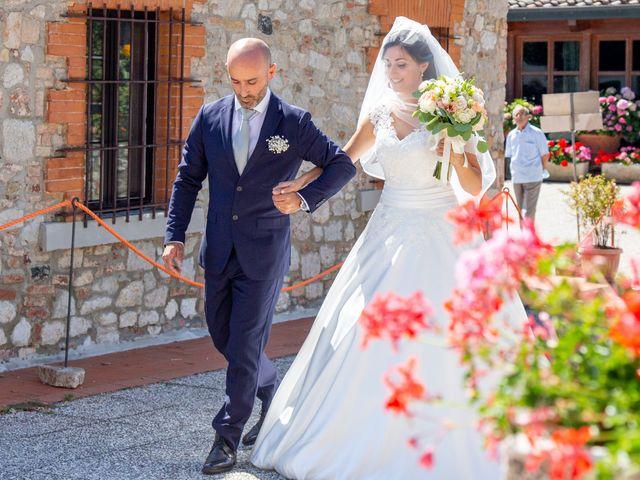 Il matrimonio di Andrea e Ginevra a San Gimignano, Siena 19