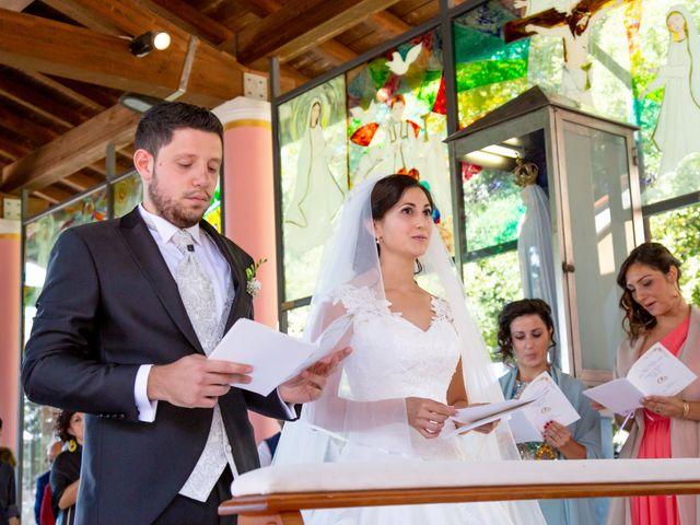 Il matrimonio di Andrea e Ginevra a San Gimignano, Siena 20