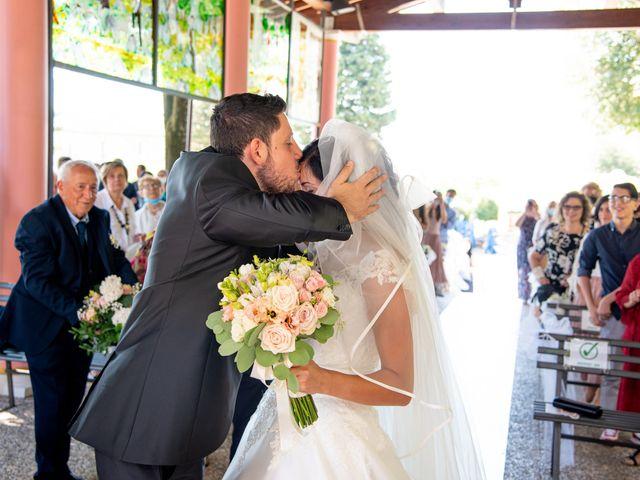 Il matrimonio di Andrea e Ginevra a San Gimignano, Siena 21