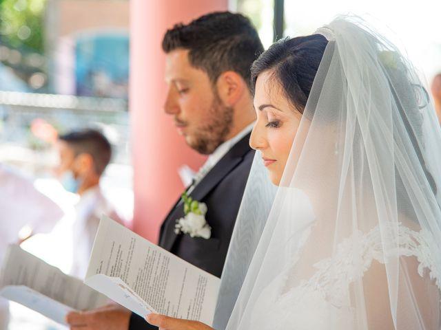 Il matrimonio di Andrea e Ginevra a San Gimignano, Siena 22