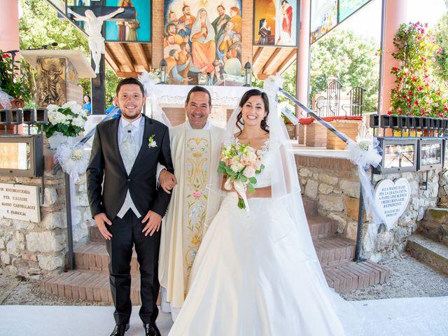 Il matrimonio di Andrea e Ginevra a San Gimignano, Siena 29