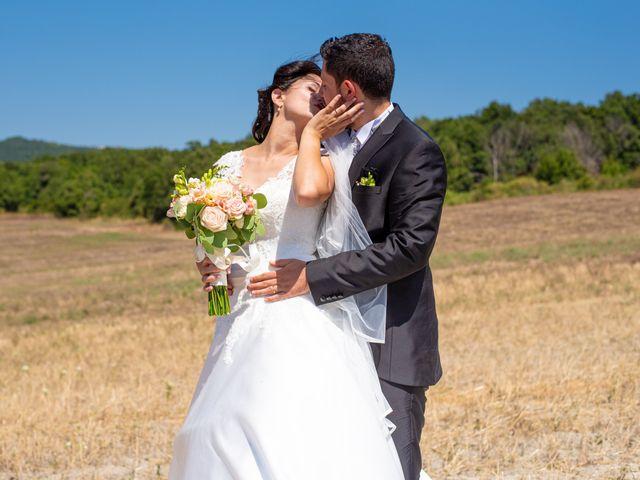 Il matrimonio di Andrea e Ginevra a San Gimignano, Siena 33