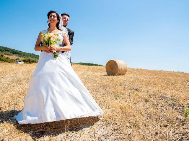 Il matrimonio di Andrea e Ginevra a San Gimignano, Siena 34