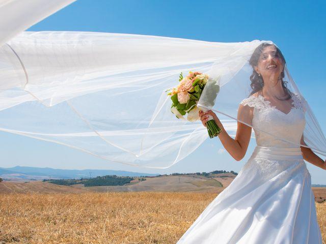 Il matrimonio di Andrea e Ginevra a San Gimignano, Siena 37