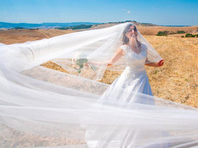 Il matrimonio di Andrea e Ginevra a San Gimignano, Siena 38
