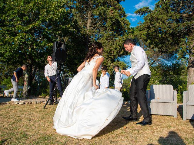 Il matrimonio di Andrea e Ginevra a San Gimignano, Siena 44