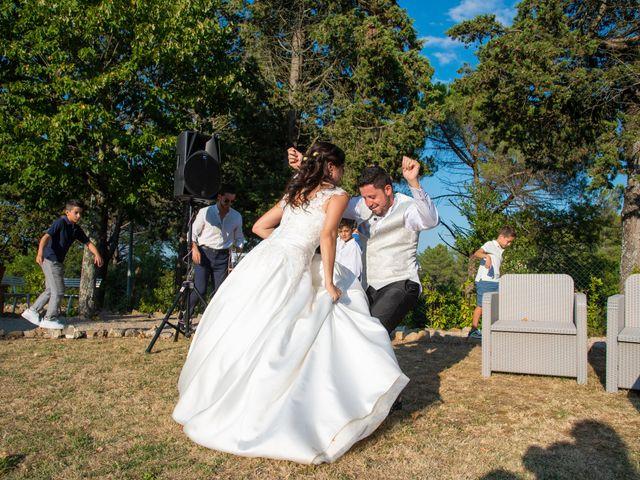 Il matrimonio di Andrea e Ginevra a San Gimignano, Siena 45