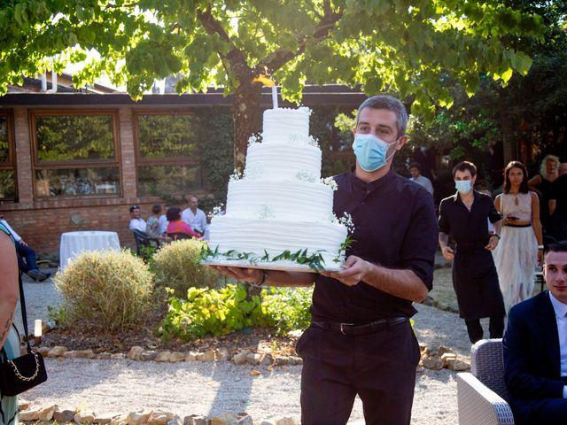 Il matrimonio di Andrea e Ginevra a San Gimignano, Siena 50