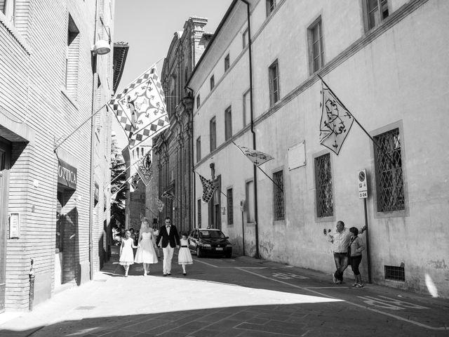 Il matrimonio di Massimo e Olga a Città della Pieve, Perugia 10