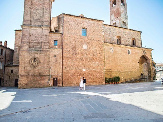 Il matrimonio di Massimo e Olga a Città della Pieve, Perugia 11