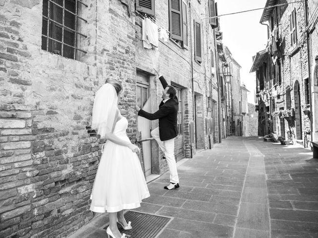 Il matrimonio di Massimo e Olga a Città della Pieve, Perugia 12