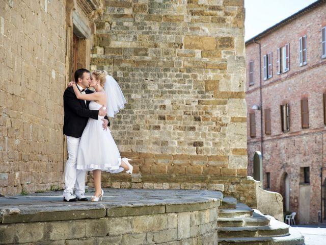 Il matrimonio di Massimo e Olga a Città della Pieve, Perugia 13