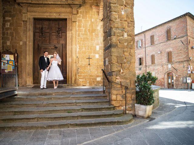 Il matrimonio di Massimo e Olga a Città della Pieve, Perugia 14