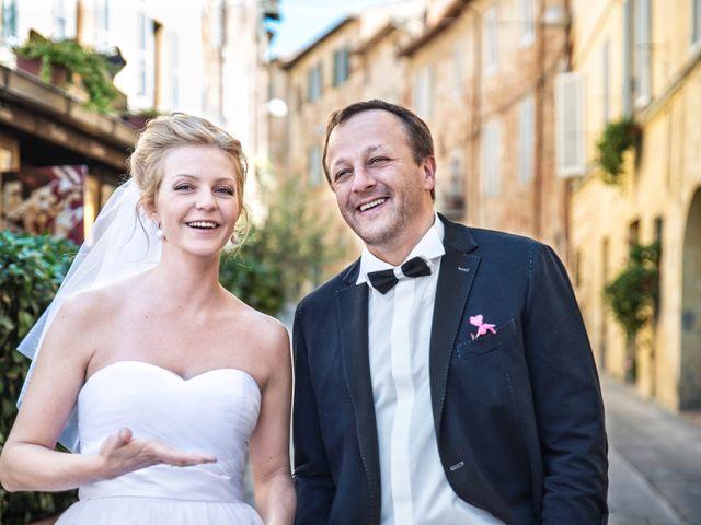 Il matrimonio di Massimo e Olga a Città della Pieve, Perugia 17