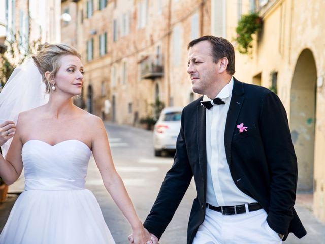 Il matrimonio di Massimo e Olga a Città della Pieve, Perugia 18