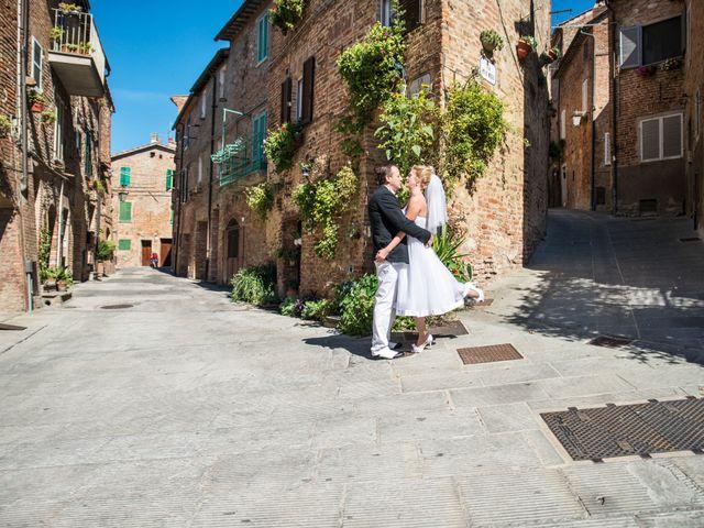 Il matrimonio di Massimo e Olga a Città della Pieve, Perugia 19
