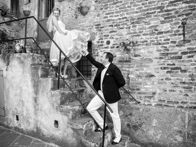 Il matrimonio di Massimo e Olga a Città della Pieve, Perugia 20