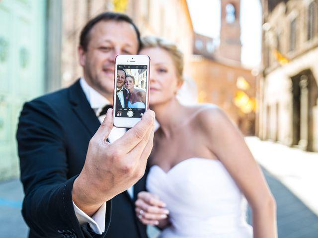 Il matrimonio di Massimo e Olga a Città della Pieve, Perugia 22