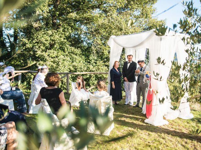 Il matrimonio di Massimo e Olga a Città della Pieve, Perugia 43
