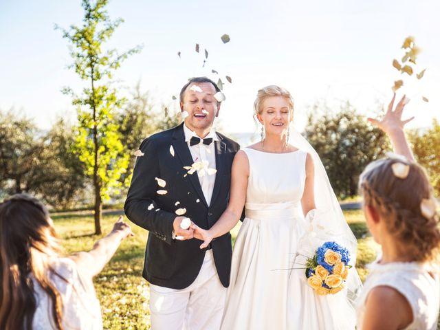 Il matrimonio di Massimo e Olga a Città della Pieve, Perugia 49