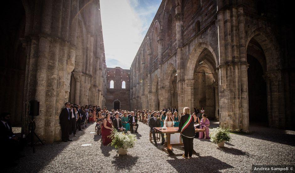 Il matrimonio di Sergio e Chiara a Siena, Siena