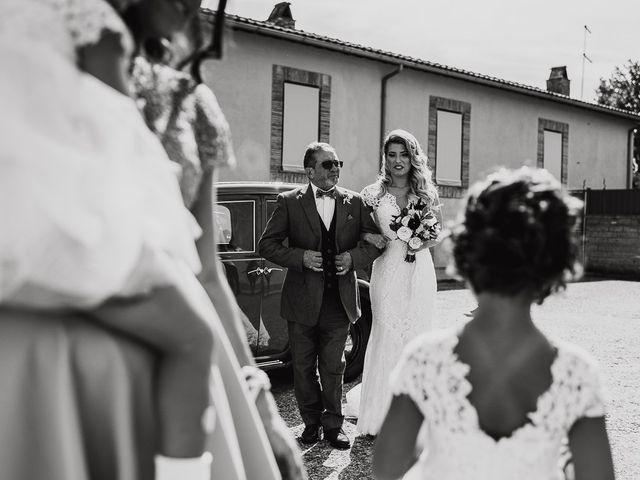 Il matrimonio di Simone e Carla a Gallese, Viterbo 19