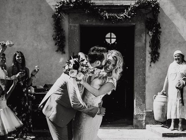 Il matrimonio di Simone e Carla a Gallese, Viterbo 28