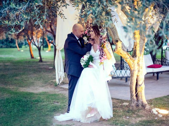 Le nozze di Imma e Enzo