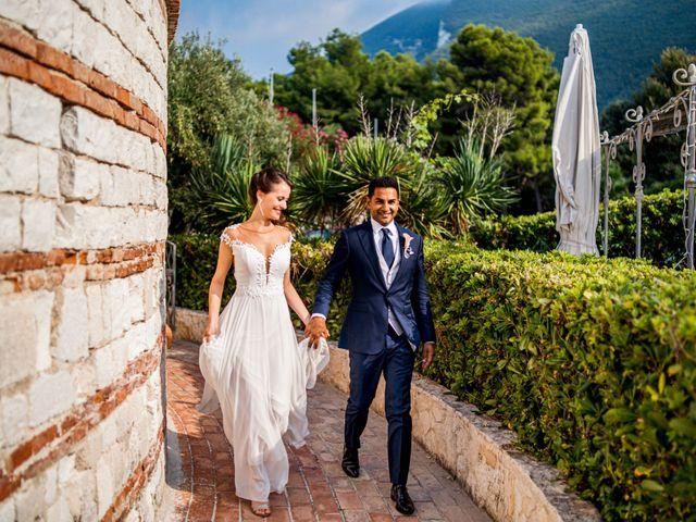 Il matrimonio di Akbar e Giulia a Sirolo, Ancona 2