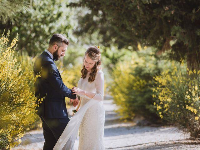 Le nozze di Vanessa e Fabien