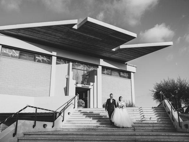 Il matrimonio di Giuseppe e Daniela a Cerveteri, Roma 17