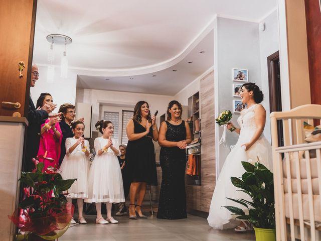 Il matrimonio di Giuseppe e Daniela a Cerveteri, Roma 51