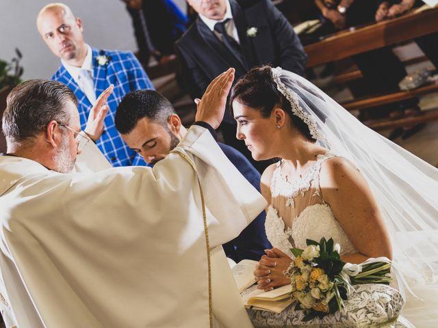 Il matrimonio di Giuseppe e Daniela a Cerveteri, Roma 56