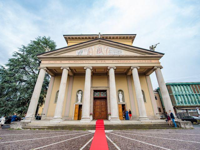 Il matrimonio di Vincenzo e Federica a Fara Gera d'Adda, Bergamo 23