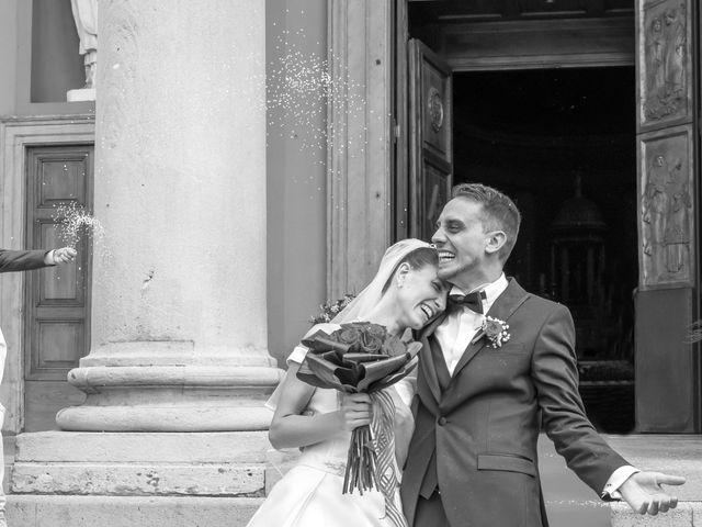 Il matrimonio di Vincenzo e Federica a Fara Gera d'Adda, Bergamo 28