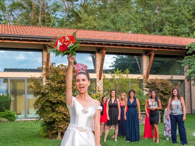 Il matrimonio di Vincenzo e Federica a Fara Gera d'Adda, Bergamo 36