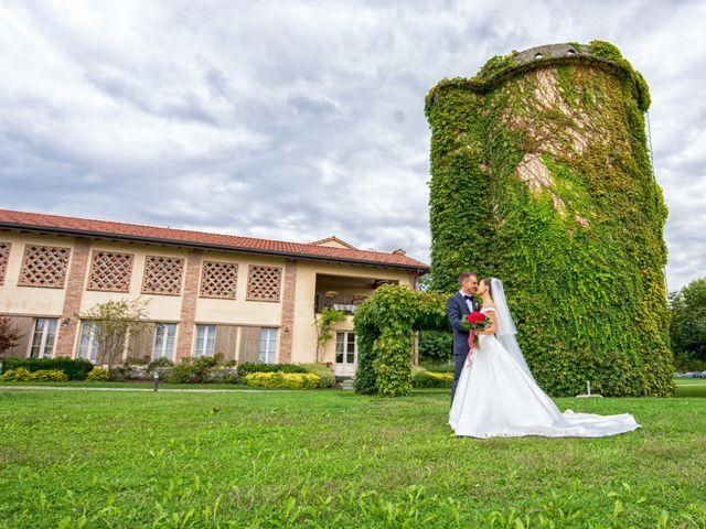 Il matrimonio di Vincenzo e Federica a Fara Gera d'Adda, Bergamo 40