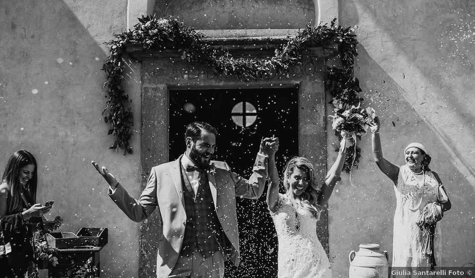 Il matrimonio di Simone e Carla a Gallese, Viterbo