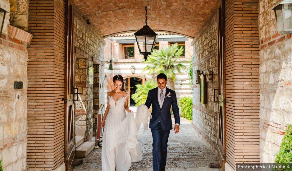 Il matrimonio di Akbar e Giulia a Sirolo, Ancona