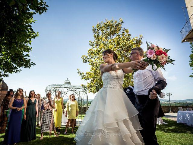 Il matrimonio di Massimo Orlandi e Debora Signorini a Cortanze, Asti 1
