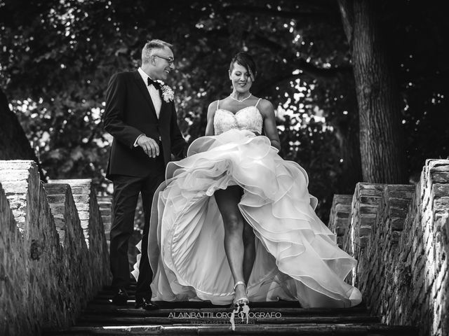 Il matrimonio di Massimo Orlandi e Debora Signorini a Cortanze, Asti 14