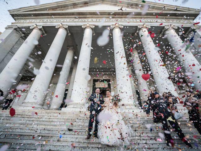 Il matrimonio di Alexandria e Guglielmo a Napoli, Napoli 35
