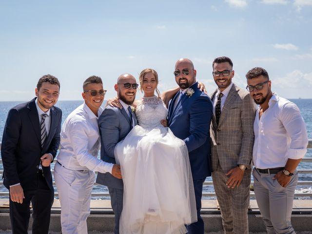 Il matrimonio di Miriam e Agostino a Pozzuoli, Napoli 47